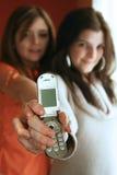 El teléfono celular Foto de archivo libre de regalías