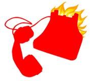 El teléfono directo fotos de archivo libres de regalías