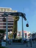 ¡El teleférico de Macao Wynn Palace Hotel está corriendo! Imagenes de archivo