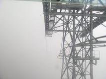 El teleferic de Mukumbari Fotografía de archivo