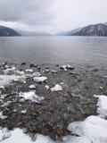 El teletskoye del lago Imagen de archivo