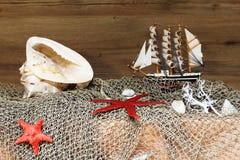 El tema marino Imagen de archivo libre de regalías