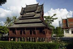 El Tempel Wat Thung Si Meuang imagenes de archivo