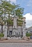 El Templete纪念碑 免版税库存照片