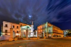 EL Templete - παλαιά Αβάνα, Κούβα Στοκ φωτογραφίες με δικαίωμα ελεύθερης χρήσης