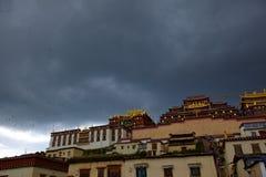 El templo Foto de archivo libre de regalías