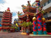 El templo ancestral más viejo, Chiangmai, Tailandia foto de archivo libre de regalías
