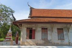 El templo antiguo bajo luz del sol Imagen de archivo