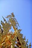 El templo blanco en Tailandia Imagenes de archivo