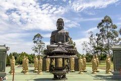 El templo budista, Foz hace Iguacu, el Brasil Imágenes de archivo libres de regalías