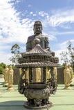 El templo budista, Foz hace Iguacu, el Brasil Imagen de archivo libre de regalías