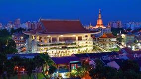 El templo budista, la pagoda Foto de archivo libre de regalías
