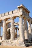 El templo de Apolo Imágenes de archivo libres de regalías