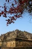 El templo de Borobudur Fotografía de archivo
