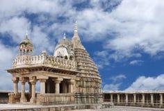 La piedra arenisca bloquea la formación de la capilla principal del templo imagen de archivo