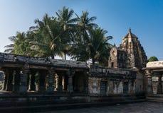 El templo de Chennakeshava en Belur, Karnataka, la India Foto de archivo libre de regalías
