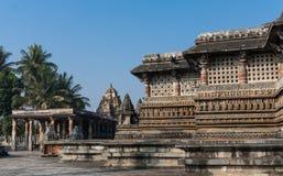 El templo de Chennakeshava en Belur, Karnataka, la India Fotografía de archivo libre de regalías