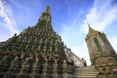 El templo de Dawn Wat Arun Fotografía de archivo