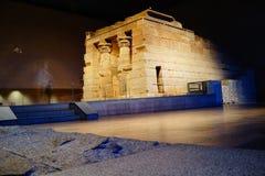 El templo de Dendur 3 Fotos de archivo libres de regalías
