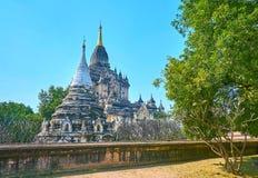El templo de Gawdawpalin en Bagan, Myanmar fotografía de archivo libre de regalías