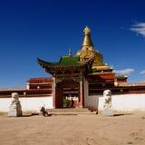 El templo de Gemo Imagen de archivo