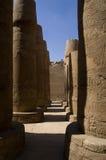El templo de Karnak Fotografía de archivo libre de regalías