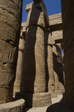 El templo de Karnak Fotografía de archivo