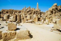 El templo de Karnak, Egipto fotos de archivo