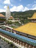 El templo de Kok Si de los leks Fotografía de archivo libre de regalías