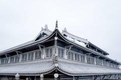 el templo de la montaña del emei Imagen de archivo