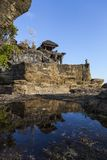 El templo de la porción de Tanah Imágenes de archivo libres de regalías