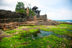 El templo de la porción de Tanah, Bali, Indonesia. Foto de archivo libre de regalías