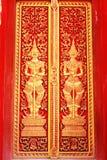 El templo de la puerta Imagen de archivo libre de regalías