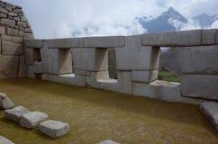 El templo de los tres Windows Foto de archivo