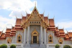 El templo de mármol Imágenes de archivo libres de regalías