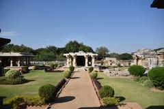 El templo de Mahadeva, Chalukya occidental, Itagi, Koppal, Karnataka Imagenes de archivo