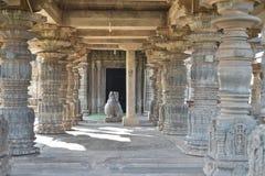 El templo de Mahadeva, Chalukya occidental, Itagi, Koppal, Karnataka Imágenes de archivo libres de regalías