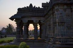 El templo de Mahadeva, fue construido circa 1112 el CE por Mahadeva, Itagi, Karnataka, la India Fotos de archivo libres de regalías