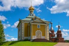 El templo de Nikolsky Fotos de archivo libres de regalías