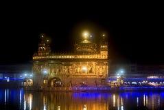 El templo de oro, Amritsar, Punjab, la India Imagen de archivo libre de regalías