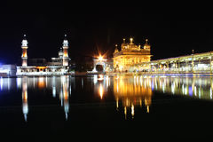 El templo de oro, Amritsar, Punjab, la India Foto de archivo