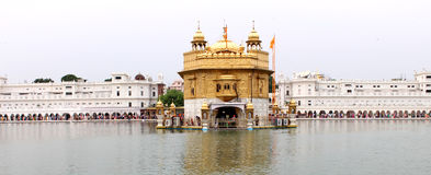 El templo de oro, Amritsar, Punjab, la India Foto de archivo libre de regalías