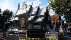 El templo de plata Fotos de archivo libres de regalías
