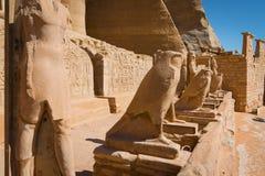 El templo de Ramses II foto de archivo