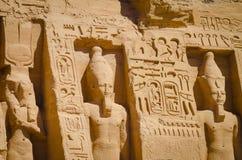 El templo de Ramses II imagen de archivo libre de regalías