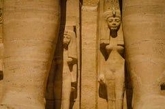 El templo de Ramses II foto de archivo libre de regalías
