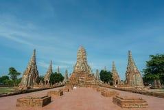 El templo de ruina en Tailandia Foto de archivo