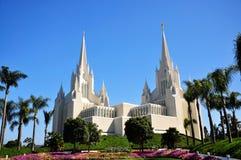 El templo de San Diego California imagen de archivo libre de regalías