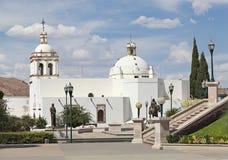 El Templo de San Francisco, Chihuahua, Mexico Arkivfoton