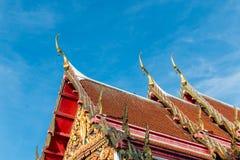 El templo de Tailandia Imagen de archivo